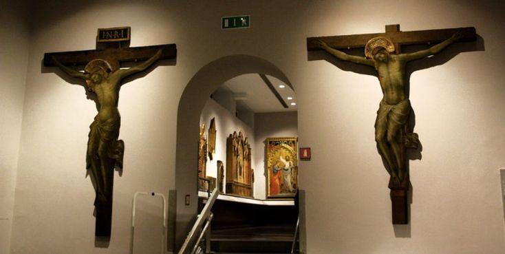 Croci dipinte all'inizio del XV secolo - Galleria dell'Accademia - Firenze