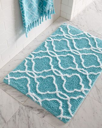 Tangiers Bath Rug by Dena Home at Neiman Marcus.