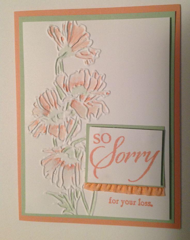 Superb Card Making Ideas Sympathy Part - 5: Sympathy Card