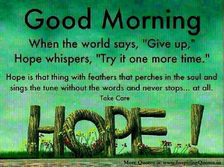 Inspirational Picture Quotes Or Great Souls: Good Morning Wishes In English