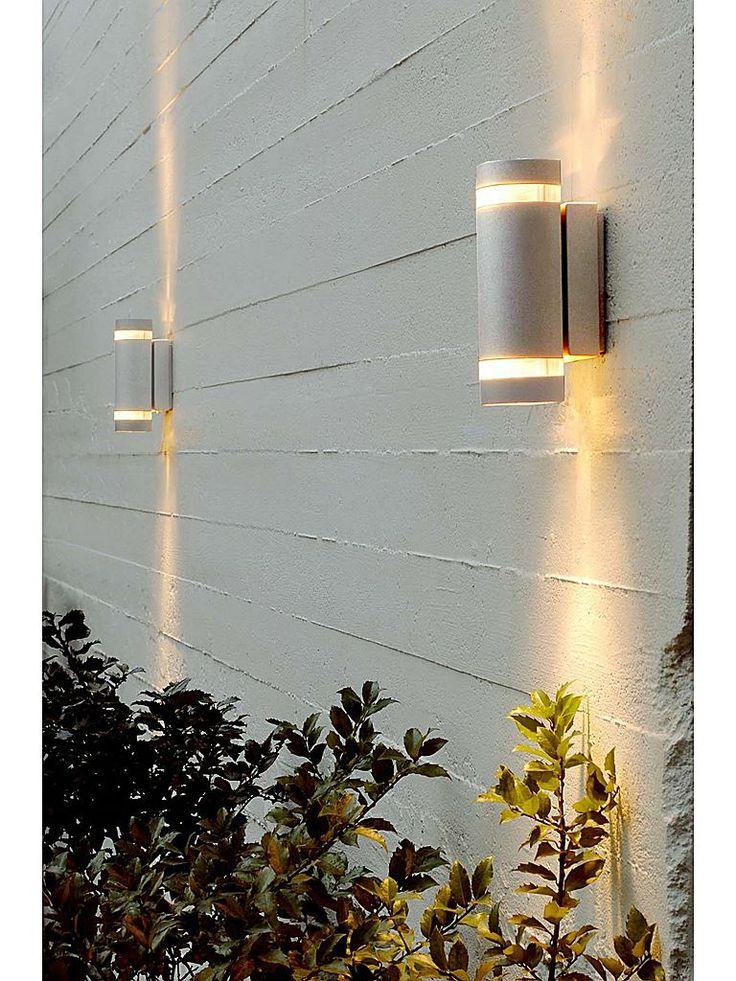 Lampekonsulenten Focus Duo wall vägglampa i aluminium.