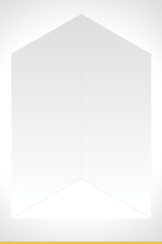 Cadenza 900x900x1830mm Shower Wall