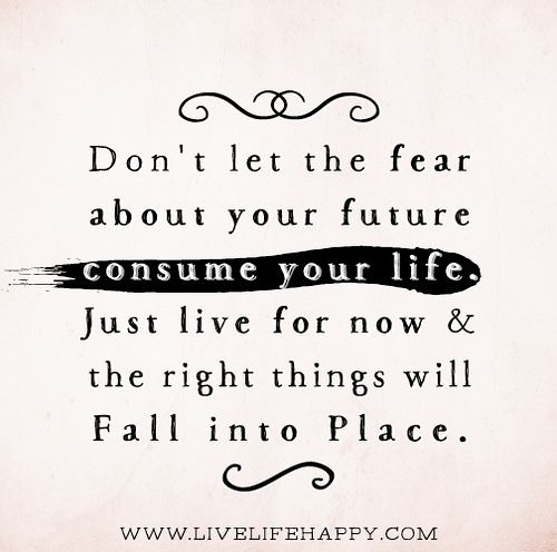 Just Live Your Life Quotes: Best 20+ The Fear Ideas On Pinterest