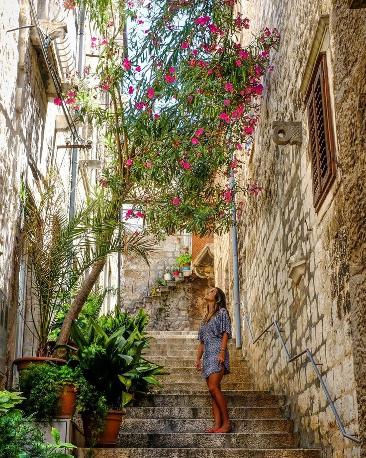 We can't wait to go back here! Love this capture of Hvar's magical streets by 📷 @timotej   Hvar, Croatia at its best!  #takemeback  | Obsess, collect and discover hidden treasures at Uppermoda | Independent fashion from Croatia | Free Shipping in Australia  ❤️ Repin to your own inspiration board