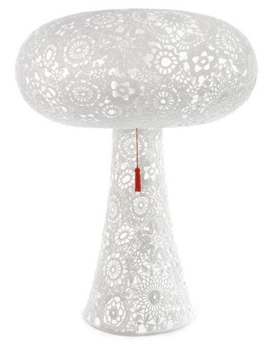 Lace lamp by the Dutch Designer Marcel Wanders
