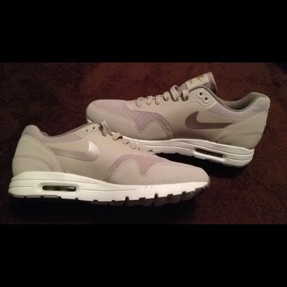 Today only.New Nike Air Max women's Shoes size 8 New without box Nike Air Max women's shoes. Size 8 Color is beige with white soles. Hard to find! Similar to Kylie jenners Nike Shoes Sneakers