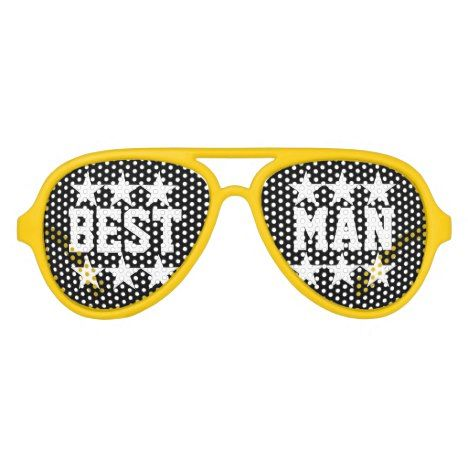 Best man bachelor party shades for groomsmen #wedding #accessories
