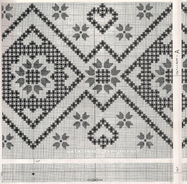 hardanger valentine tablecloth