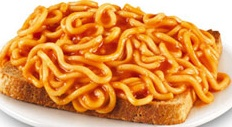 Wattie's Spaghetti-very similar to the spaghetti-os. I nice flavourful spaghetti that is great on toast.