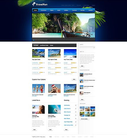 Best Inspiring Web Template Images On   Web Layout