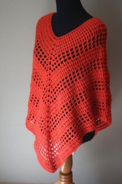Versatile Crochet Poncho Pattern