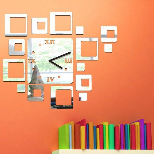 Die besten 25+ Spiegel Wanduhr Ideen auf Pinterest Wanduhren - feng shui spiegel im schlafzimmer
