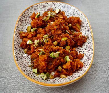 Recept: Indisk morotsdessert