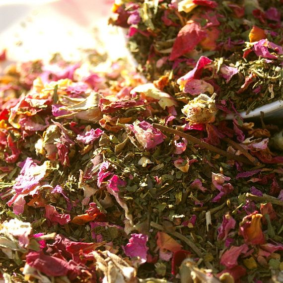 2 oz Morrocan Rose Sipping Tea by OwensAcres on Etsy, $8.50