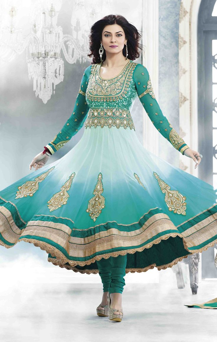 8 best Designer suits images on Pinterest | Anarkali, Indian clothes ...