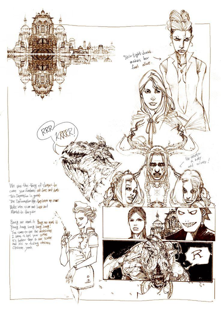 character sketch, yasu _ on ArtStation at https://www.artstation.com/artwork/8zExw