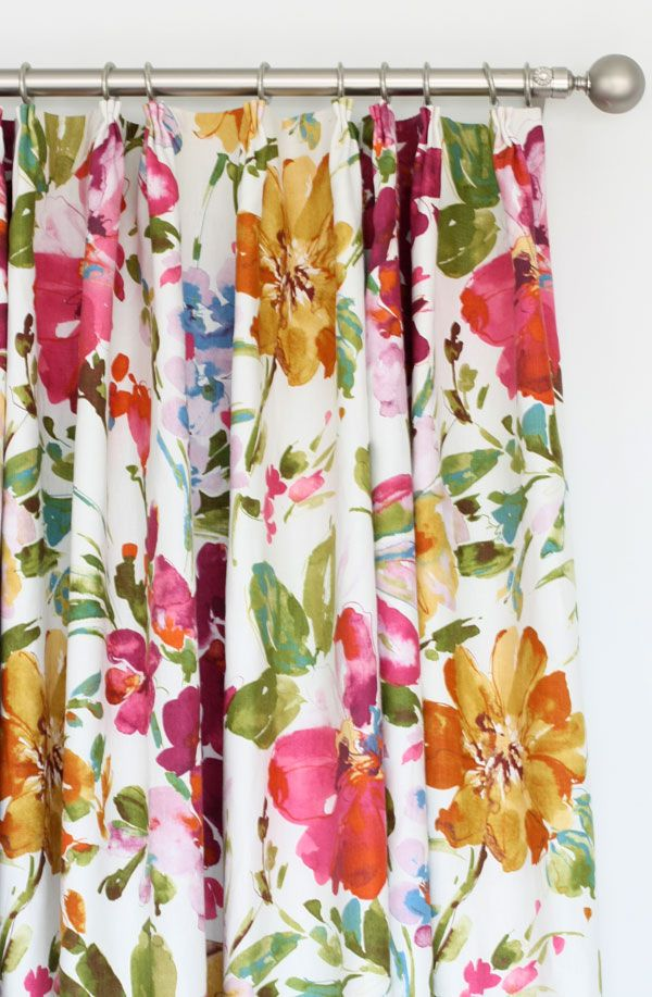 25 Best Ideas About Floral Curtains On Pinterest Fabrics Printed Curtains And Bold Curtains
