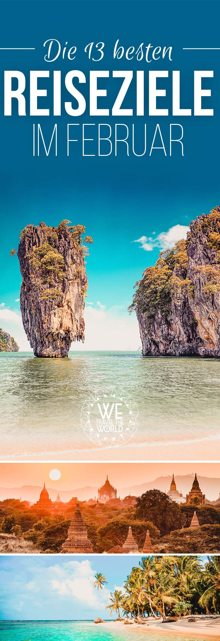 Die schönsten Reiseziele im Winter. Wir haben dir 13 Reisetipps für deinen Urlaub im Februar zusammen gestellt. #urlaub #reiseziele #reiseinspiration