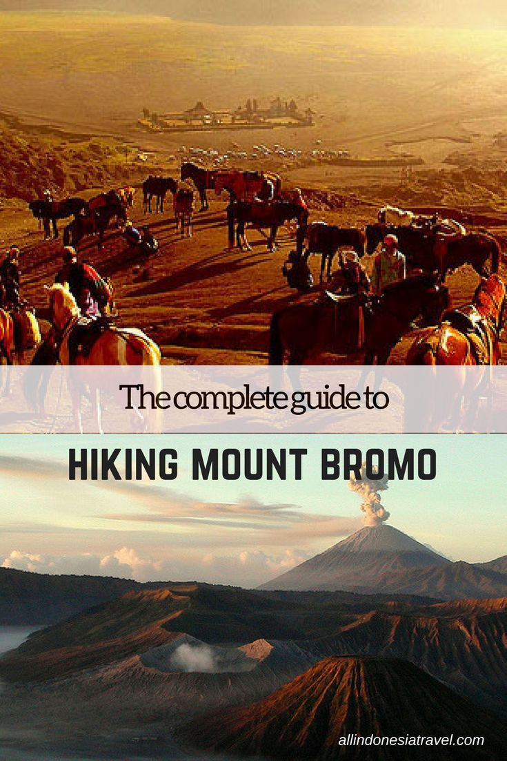The only guide you ever need to hiking Mount Bromo, the famous volcano crater in Java, Indonesia