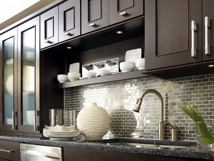 Dynasty By Omega: Metro Quartersawn Oak Truffle   Modern   Spaces   MasterBrand  Cabinets, Inc.