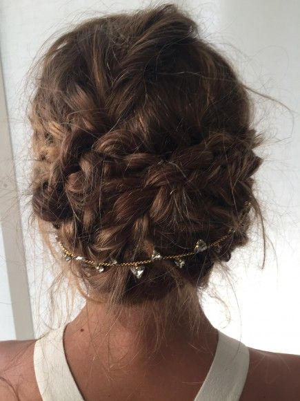 nice Coiffure : Get the Look: Olivia's Braided Up-Do
