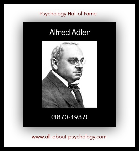 www.all-about-psychology.com/alfred-adler.html    I've just added an Alfred Adler section to the All About Psychology website (click on image or see link below). This will shortly include a series of free full-text articles both by and about Adler.    www.all-about-psychology.com/alfred-adler.html