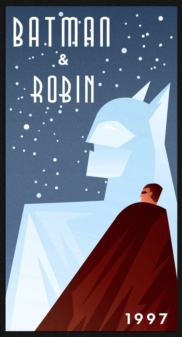 BATMAN AND ROBIN art deco by rodolforever.deviantart.com on @deviantART