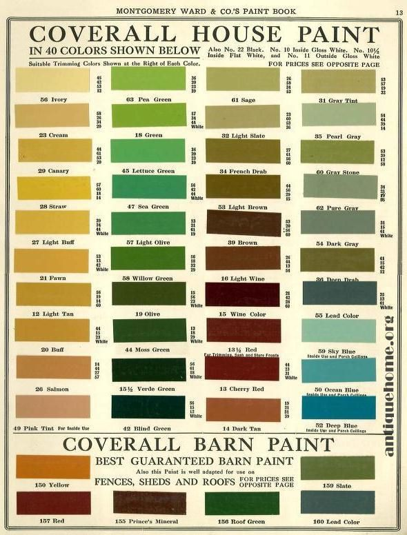 The Daily Bungalow Montgomery Wards Bungalow Housepaints By L Home Pinterest Green
