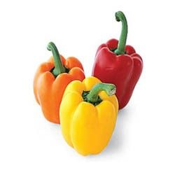 Bell peppers have been cultivated for some 9000 years. It contains Vitamin C, Vitamin B6, Vitamin A, as well as Potassium and other nutrients.