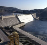 Grand Coulee Dam Washington. 1988 or 1989.  Interesting. We were here the day of the Sierra Madre earthquake.