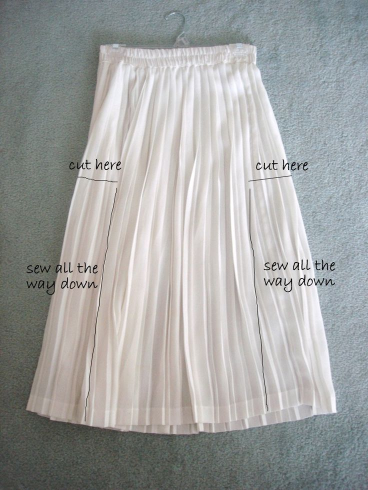 Welcome to the gOOd life: DIY-pleated dress