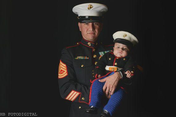 Marine Corps - usmc - Marine Corps Baby - Marine baby clothes - Marine outfit - Marine corps baby clothes  - USMC - Hobbyist License #21512