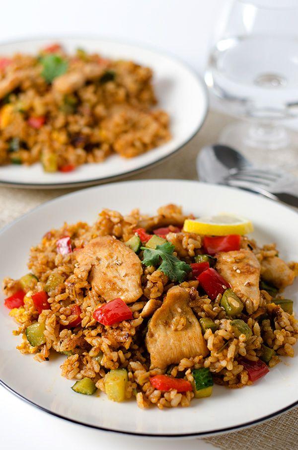 Thai Curry Chicken Fried Rice   Omnivore's Cookbook