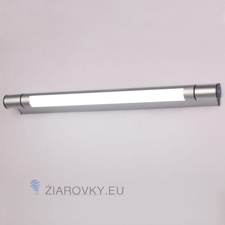 Moderné LED 12W nástenné svietidlo vysokej kvality určené do kupeľne, wc, kuchyne a pod