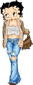 Betty Boop ~ Casual Betty