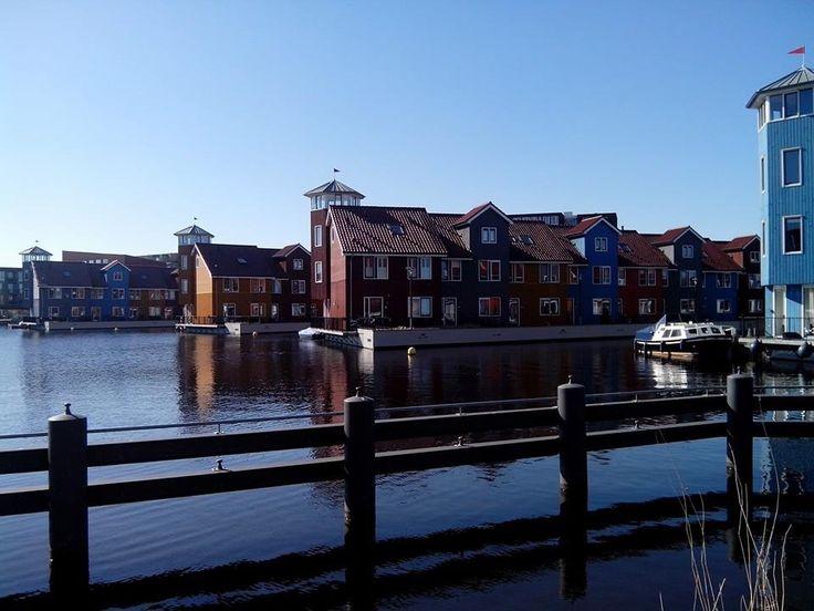 Reitdiep Groningen .