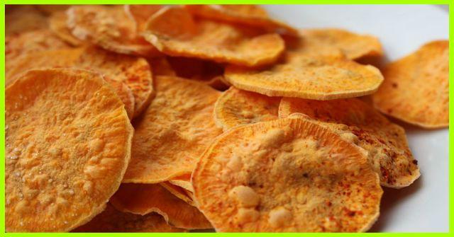 w w recipes: Baked Sweet Potato Chips SmartPoints: 1