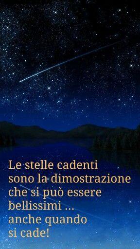 Le stelle cadenti...