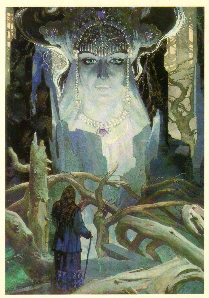 Tales of Pavel Bazhov illustrated by Vyacheslav Nazaruk