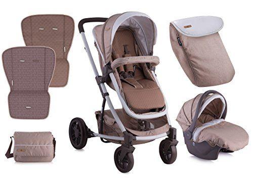 Lorelli S5000+ Set cochecito 3-en-1con siège-auto Beige  #madre http://carritosbebe.org/producto/lorelli-s500-0-set-cochecito-3-en-1-con-siege-auto-beige/