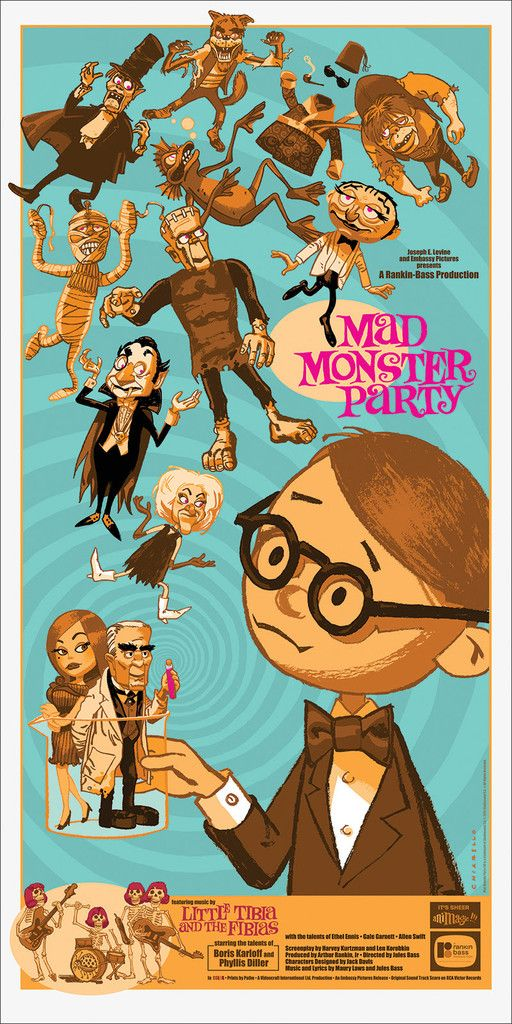 Mad Monster Party by Mark Chiarello - Mondo