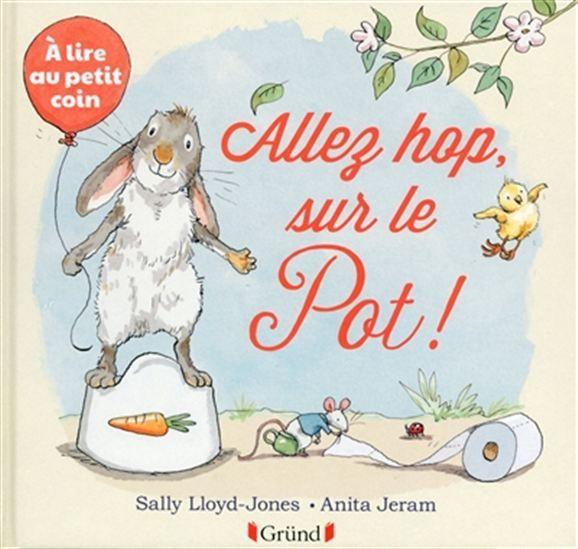 Bébé lapin et d'autres drôles d'animaux se donnent le mot et se retrouvent tous... au petit coin. Avec un petit miroir à la fin pour que le lecteur fasse, lui aussi, partie de l'histoire.