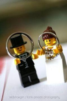 可愛すぎる~マネしたい!レゴで作る結婚式アイテム・8選