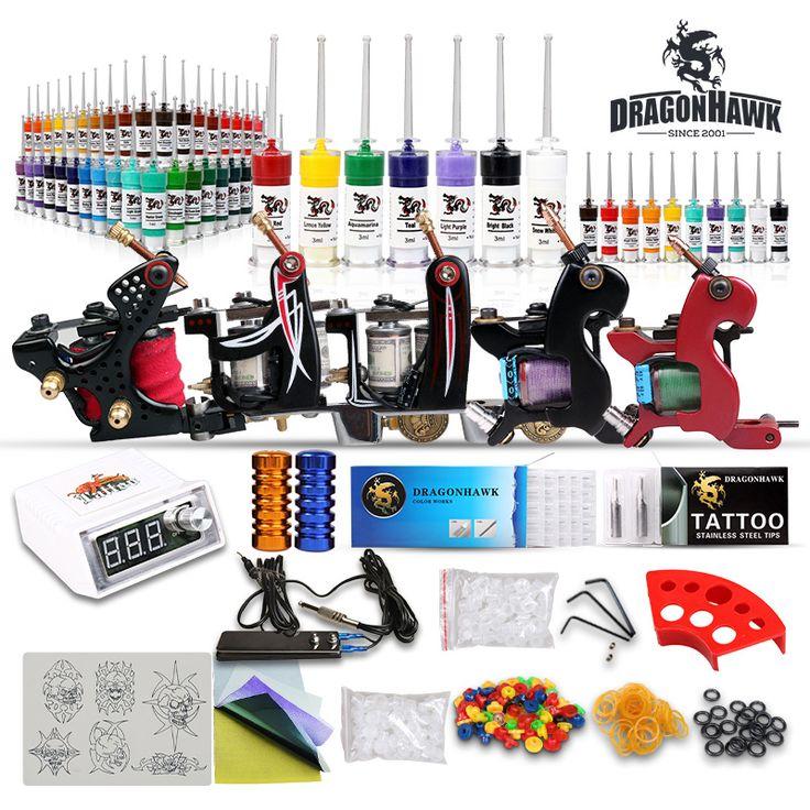 Tattoo Kit New 5 top Machine Guns Set Equipment Power Supply 57 [D173(3 USO24)] - US$75.00 : Dragonhawk tattoo supplies, tattoo kits,tattoo machines for sale global form www.tattoodiy.com