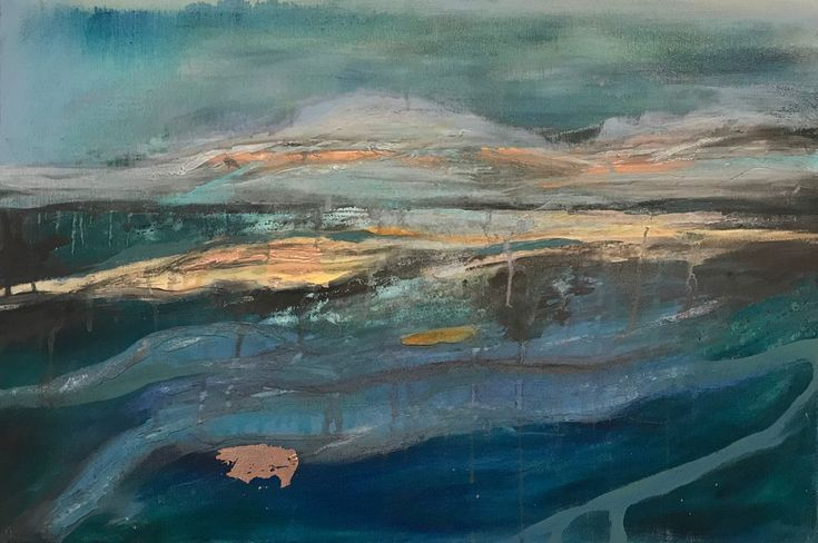 Buy Inlet, Mixed Media painting by Amanda Lakin on Artfinder. Discover thousands of other original paintings, prints, sculptures and photography from independent artists.
