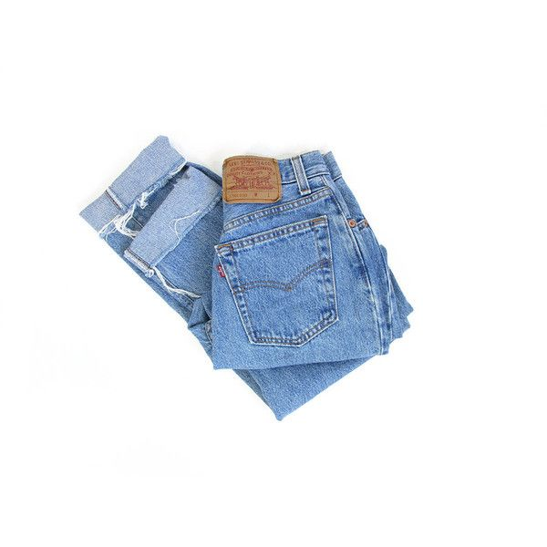 High Waist Straight Fit Tapered Levis Button Fly Jeans ($46) ❤ liked on Polyvore featuring jeans, pants, bottoms, straight leg jeans, high-waisted jeans, blue jeans, tapered jeans and levi straight leg jeans