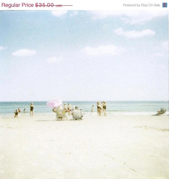 New Shop Beach Umbrella Polaroid photograph, 2009
