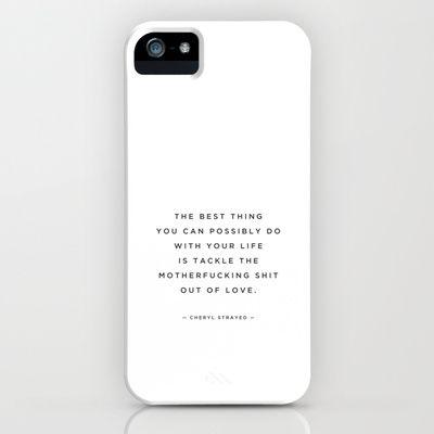 cheryl strayed iPhone Case by catherine gignac - $35.00