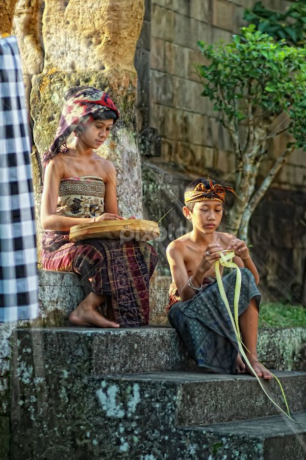 Brother & Sister from Bali
