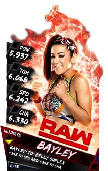 Ultimate Cards (48) - WWE SuperCard Cards Catalog - S2 & S3 Database